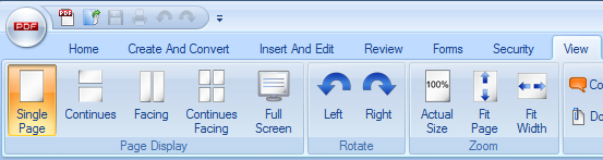 Read PDF Tools Screenshot