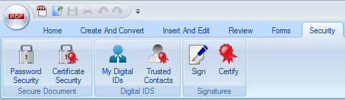 Secure PDF Tools Screenshot